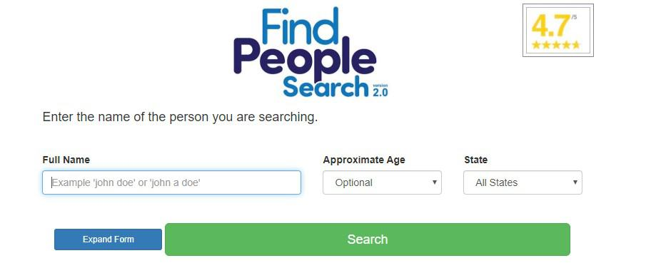 findpeoplesearch homepage