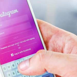 login to instagram via mobile